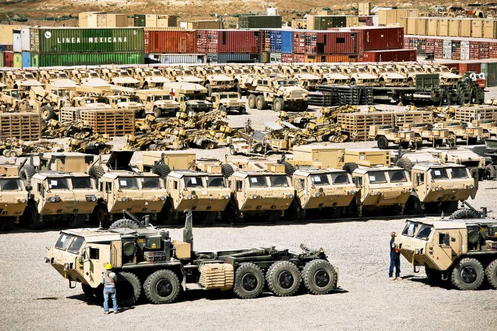 Bagram Hava Üssü'nde ABD'den geriye kalanlar 11