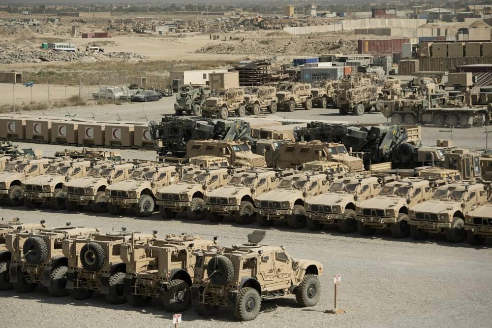 Bagram Hava Üssü'nde ABD'den geriye kalanlar 12