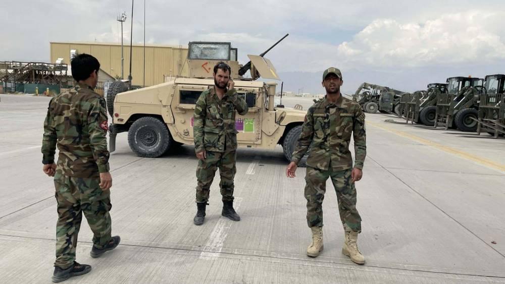 Bagram Hava Üssü'nde ABD'den geriye kalanlar 13