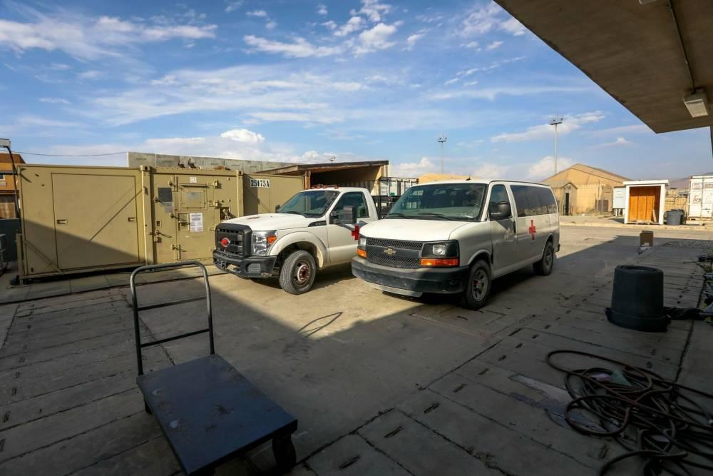 Bagram Hava Üssü'nde ABD'den geriye kalanlar 14
