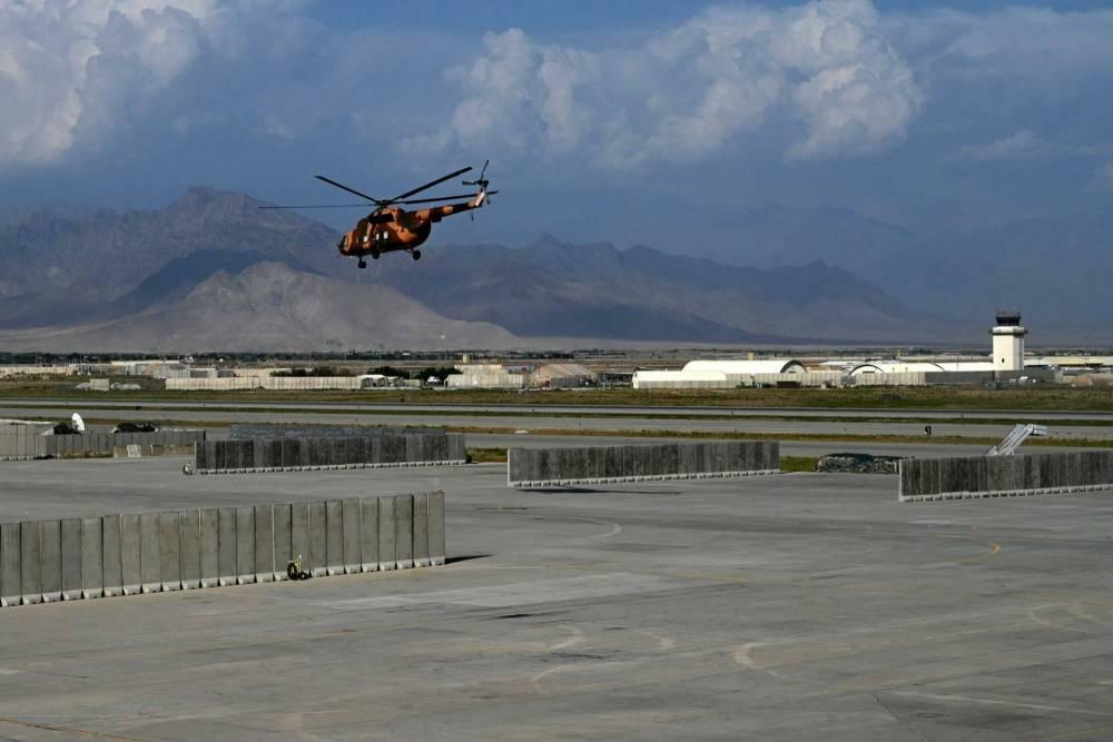 Bagram Hava Üssü'nde ABD'den geriye kalanlar 18
