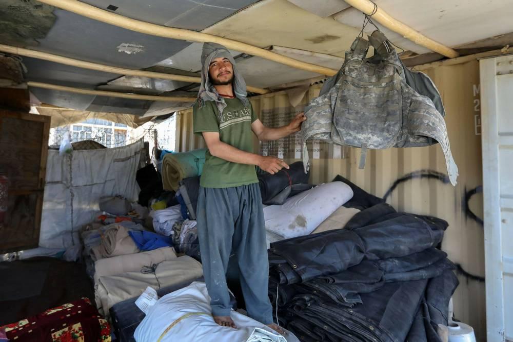 Bagram Hava Üssü'nde ABD'den geriye kalanlar 19
