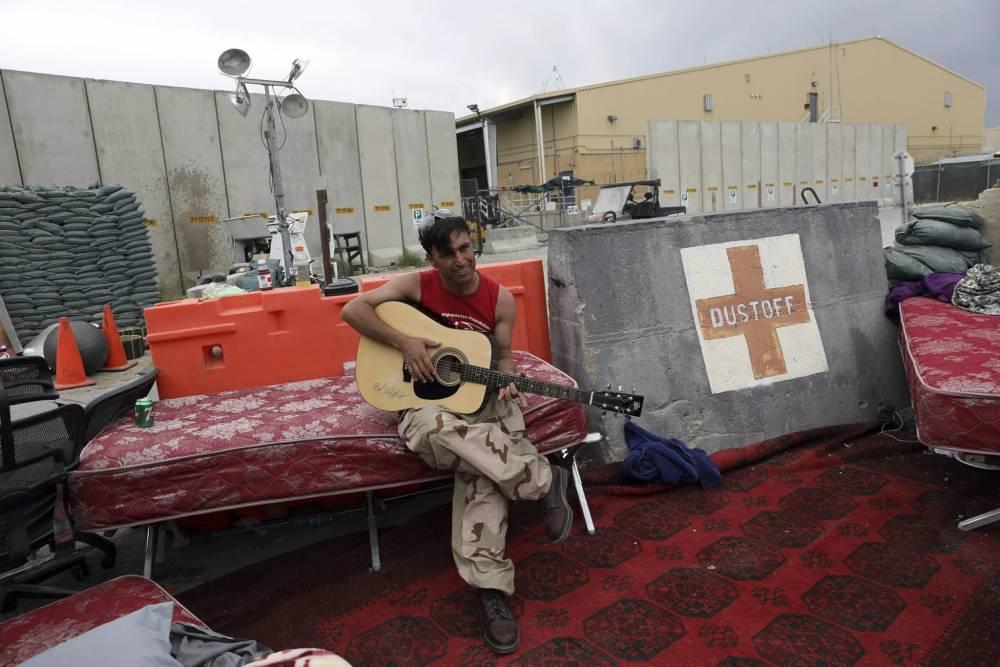 Bagram Hava Üssü'nde ABD'den geriye kalanlar 5