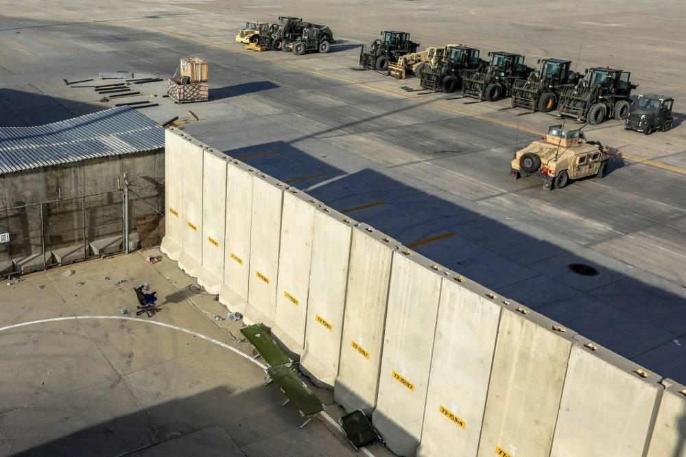 Bagram Hava Üssü'nde ABD'den geriye kalanlar 7