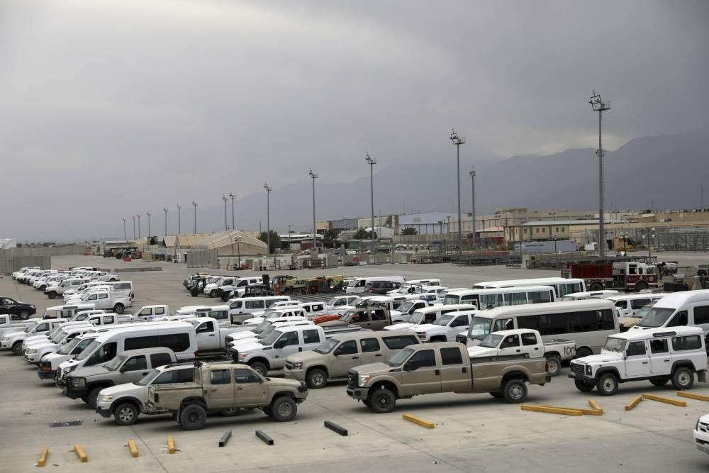 Bagram Hava Üssü'nde ABD'den geriye kalanlar 9