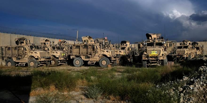 Bagram Hava Üssü'nde ABD'den geriye kalanlar