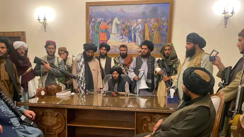 Galeri: Taliban'ın Kabil'e girişi dünya basınında 1