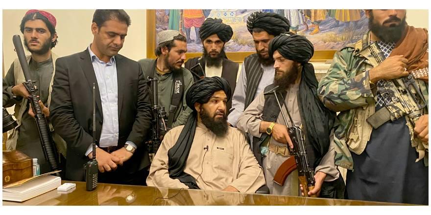 Galeri: Taliban'ın Kabil'e girişi dünya basınında