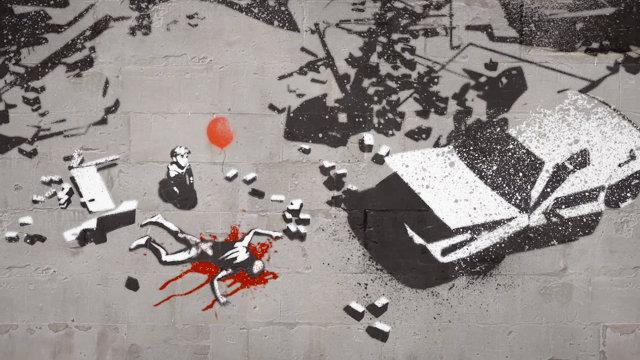 """""""Gerilla Artist"""" Banksy 1"""