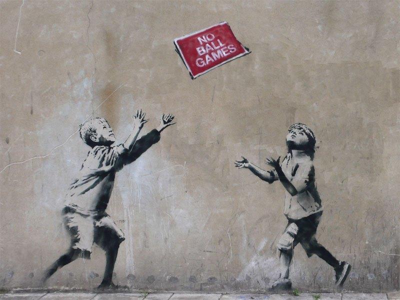 """""""Gerilla Artist"""" Banksy 10"""