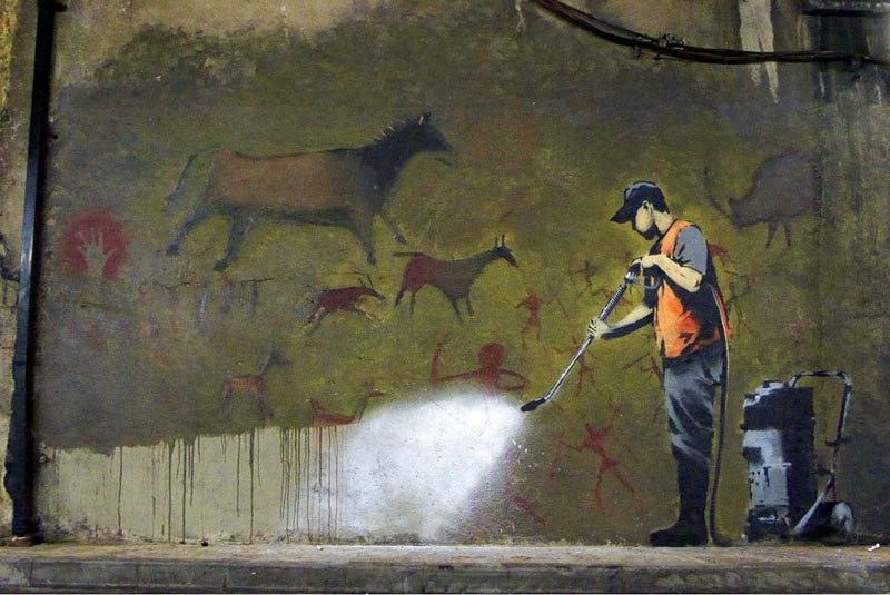 """""""Gerilla Artist"""" Banksy 11"""