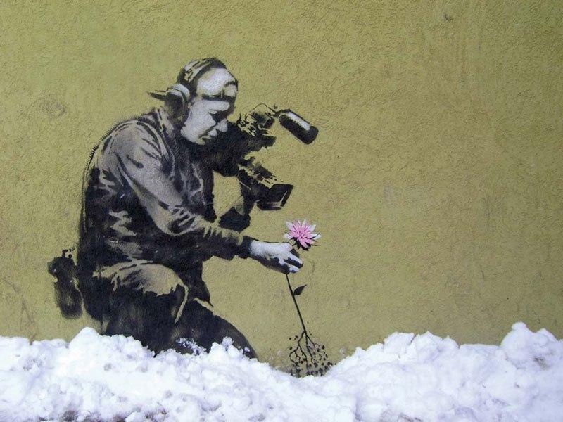 """""""Gerilla Artist"""" Banksy 12"""