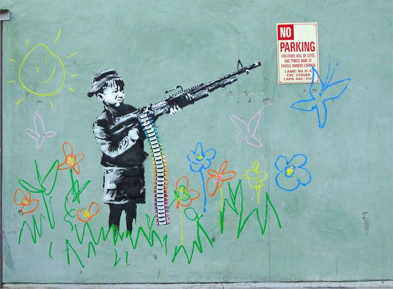 """""""Gerilla Artist"""" Banksy 13"""