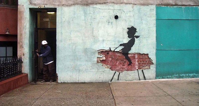 """""""Gerilla Artist"""" Banksy 15"""