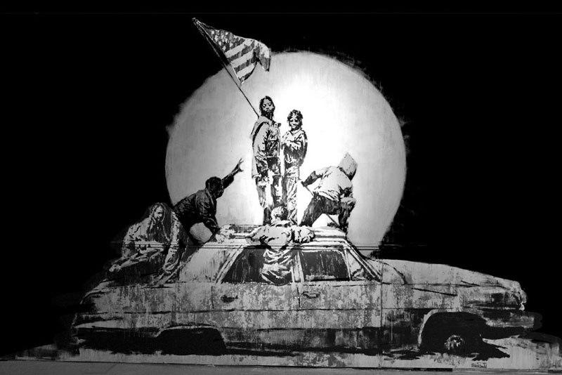 """""""Gerilla Artist"""" Banksy 17"""