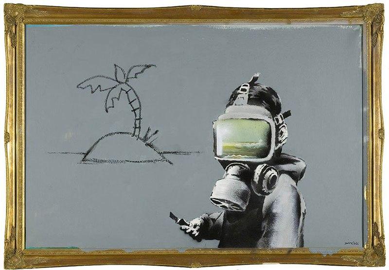 """""""Gerilla Artist"""" Banksy 18"""