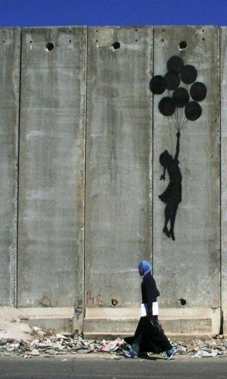 """""""Gerilla Artist"""" Banksy 2"""