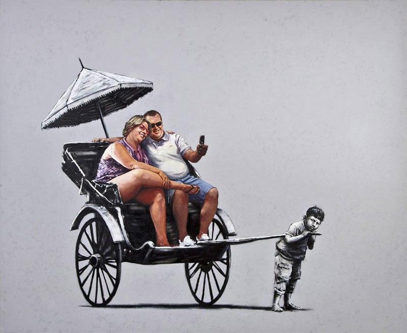 """""""Gerilla Artist"""" Banksy 20"""
