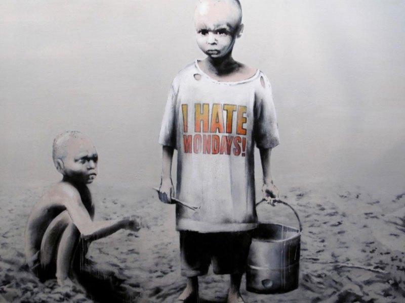 """""""Gerilla Artist"""" Banksy 26"""
