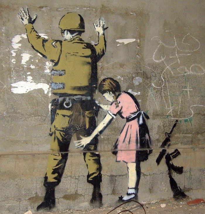 """""""Gerilla Artist"""" Banksy 28"""