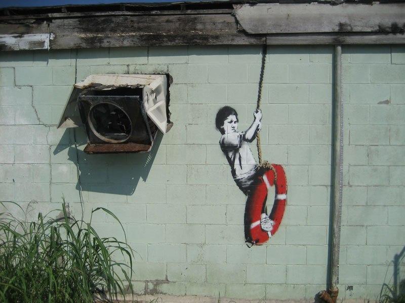 """""""Gerilla Artist"""" Banksy 31"""