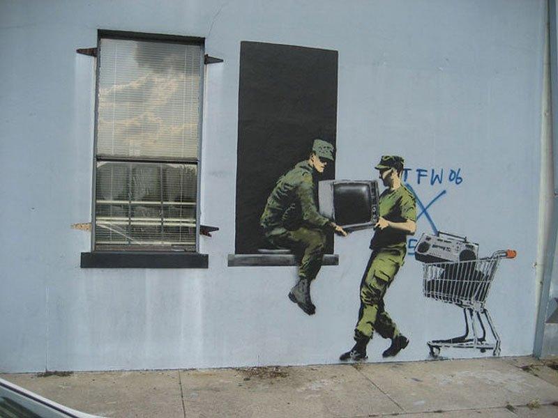 """""""Gerilla Artist"""" Banksy 32"""