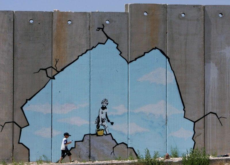 """""""Gerilla Artist"""" Banksy 35"""