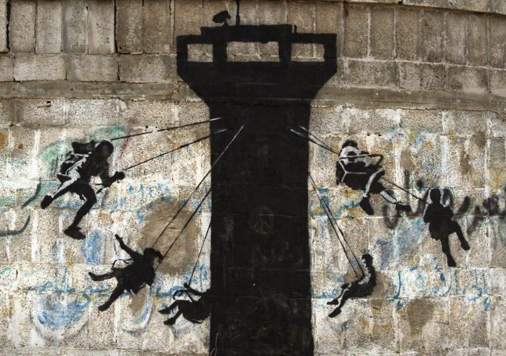 """""""Gerilla Artist"""" Banksy 37"""