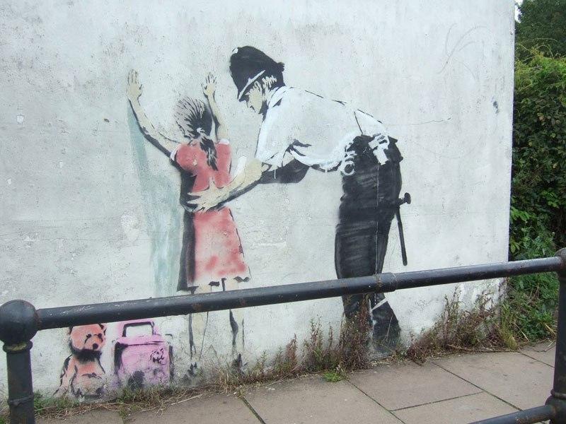 """""""Gerilla Artist"""" Banksy 4"""