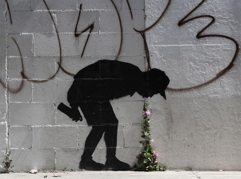 """""""Gerilla Artist"""" Banksy 6"""