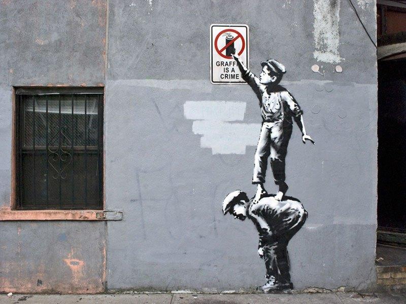 """""""Gerilla Artist"""" Banksy 7"""