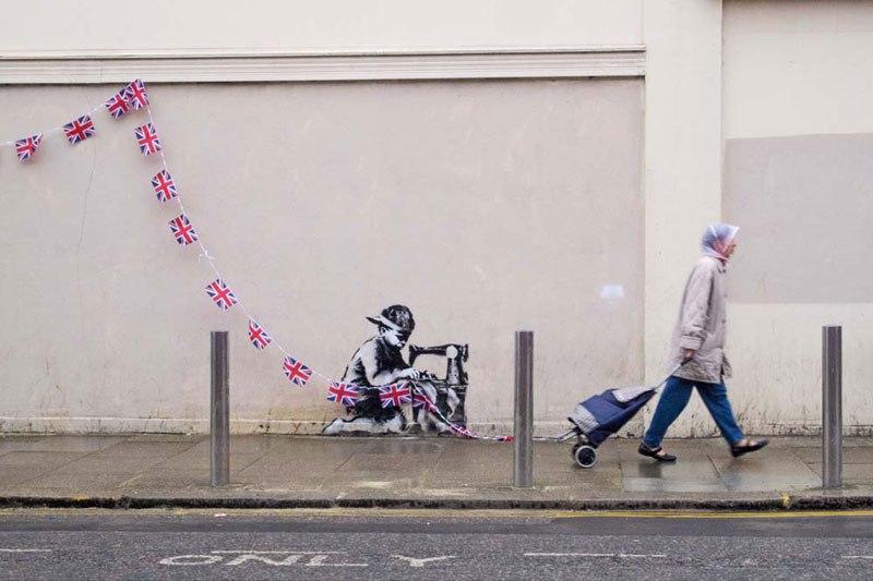 """""""Gerilla Artist"""" Banksy 8"""
