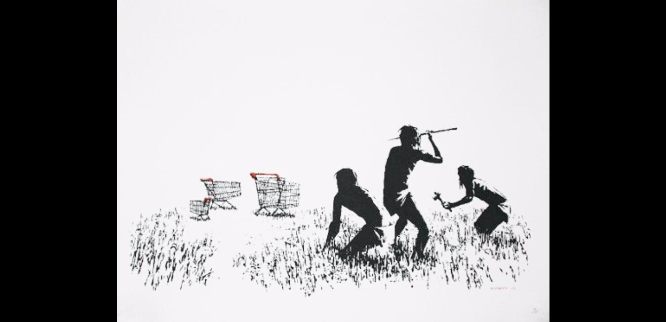 """""""Gerilla Artist"""" Banksy 9"""