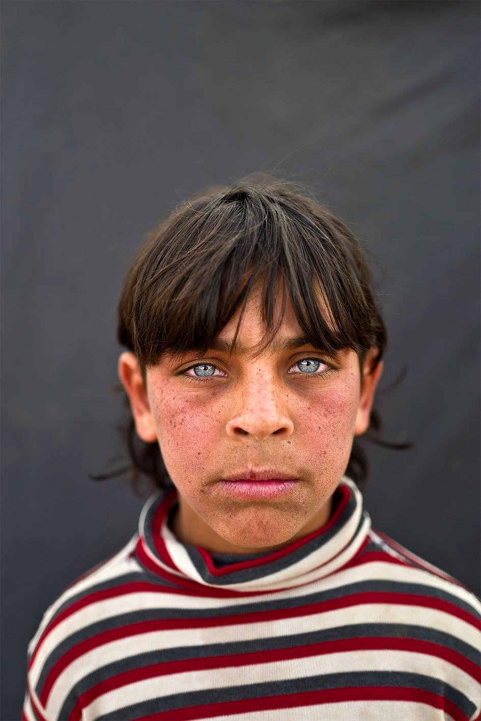 Savaşın Acısı Onların Gözlerinde 9