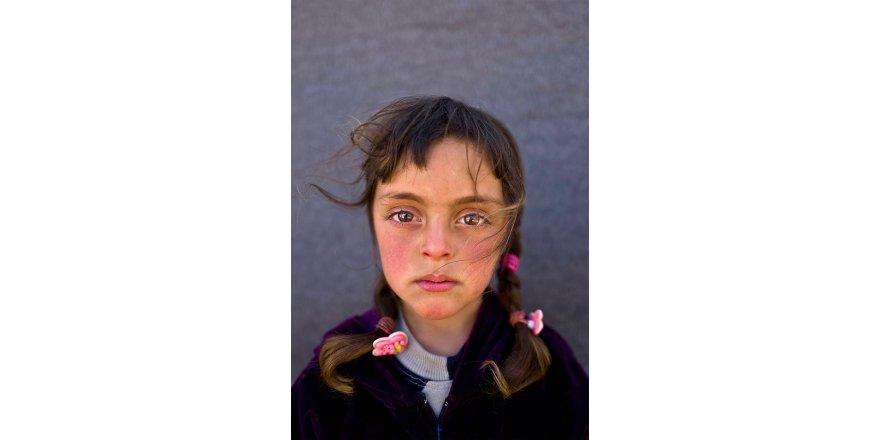 Savaşın Acısı Onların Gözlerinde