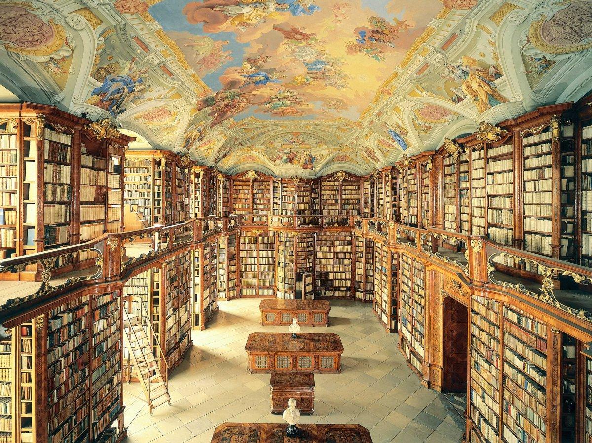 Dünyanın en büyük kütüphaneleri 1