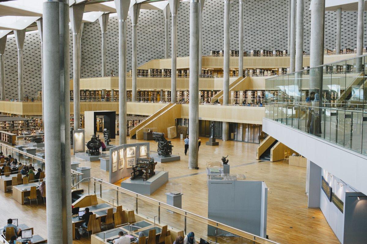 Dünyanın en büyük kütüphaneleri 11