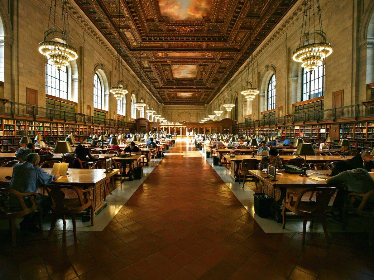 Dünyanın en büyük kütüphaneleri 14