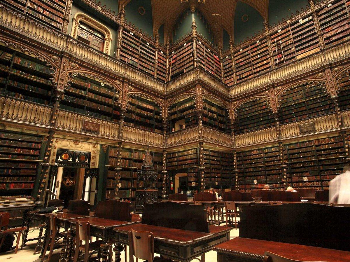 Dünyanın en büyük kütüphaneleri 16