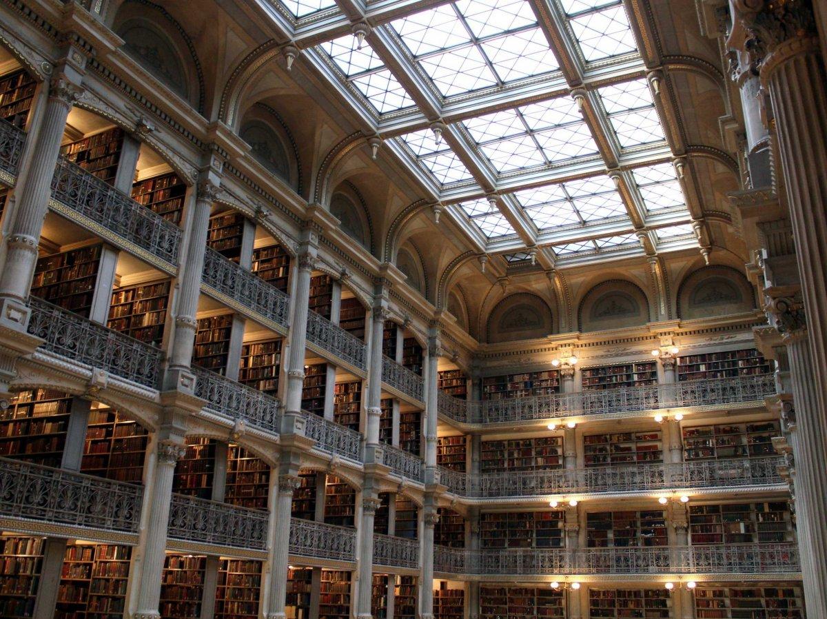 Dünyanın en büyük kütüphaneleri 2
