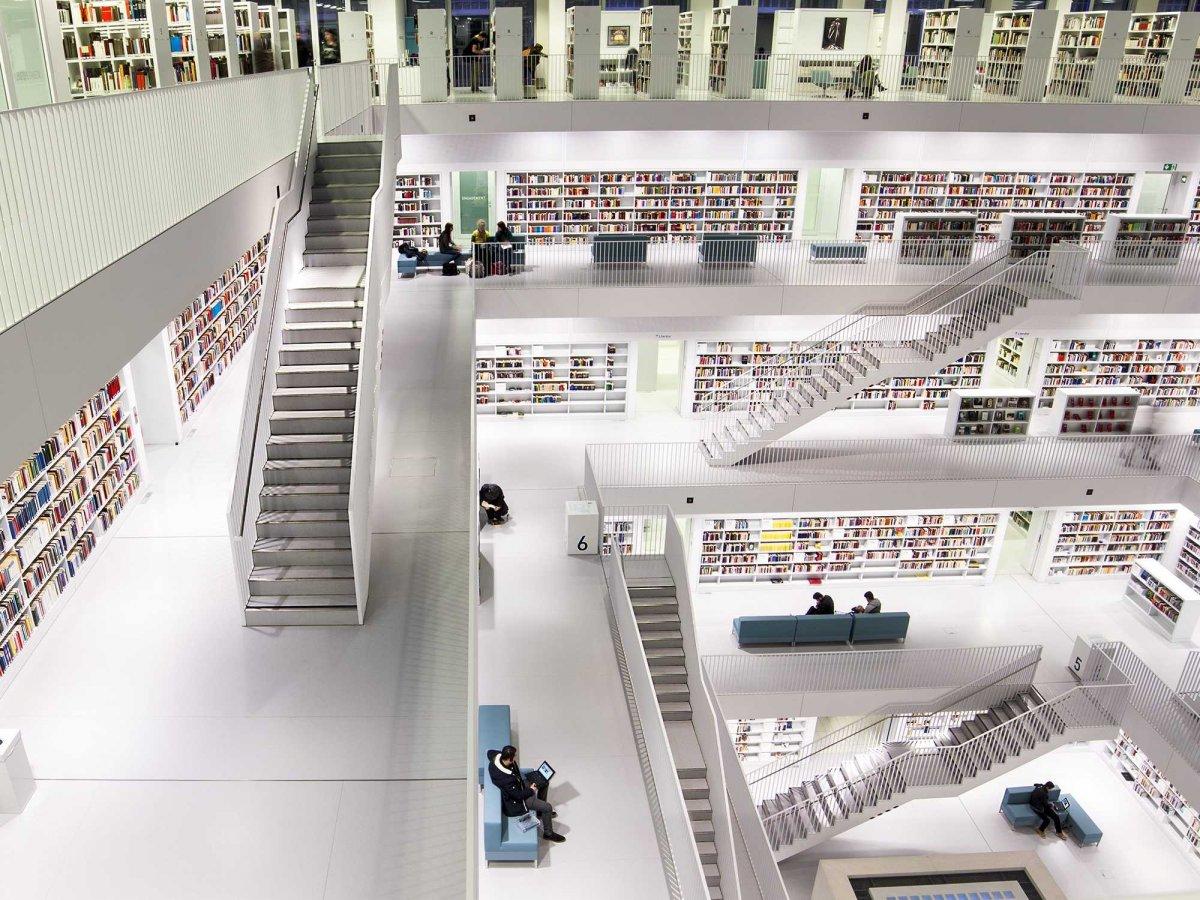 Dünyanın en büyük kütüphaneleri 6