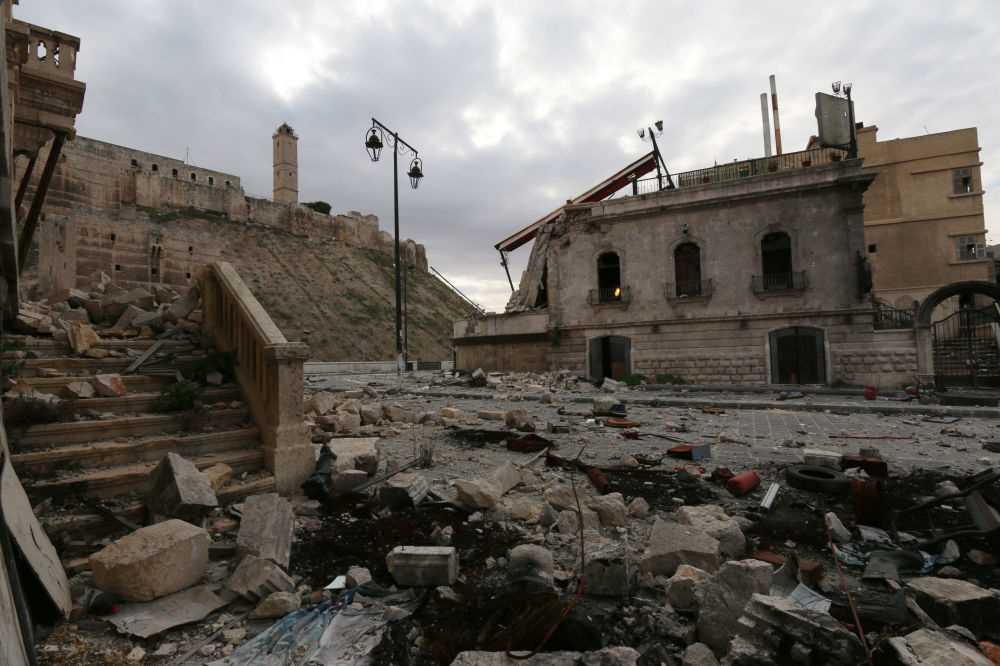 Savaş öncesi ve sonrası Halep 1
