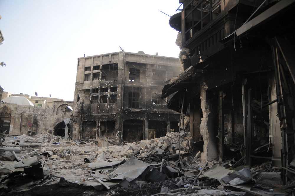 Savaş öncesi ve sonrası Halep 10