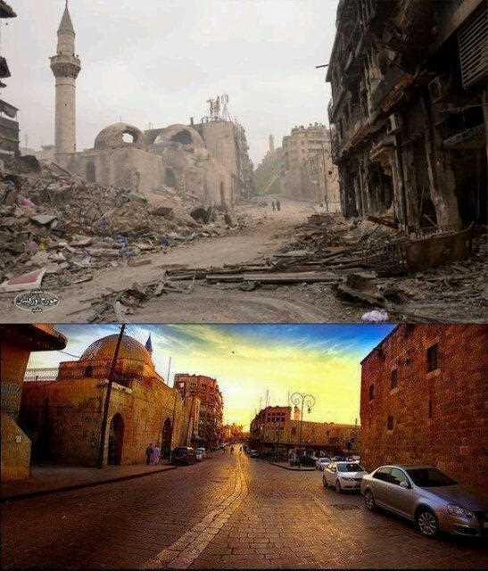 Savaş öncesi ve sonrası Halep 13