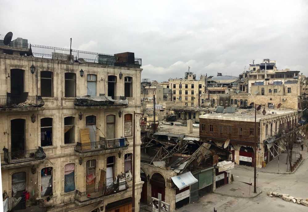 Savaş öncesi ve sonrası Halep 16