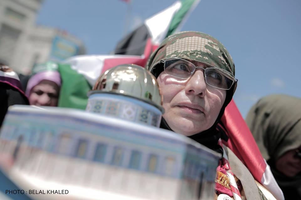 İstanbul'da Kudüs için yapılan gösteriler 2