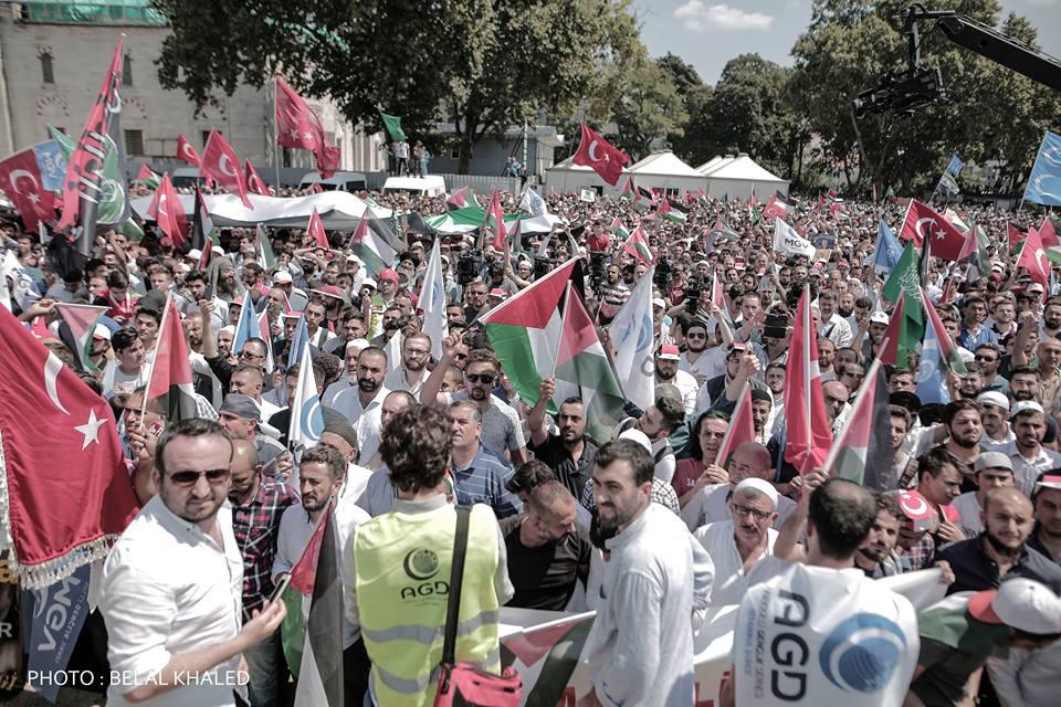 İstanbul'da Kudüs için yapılan gösteriler 4