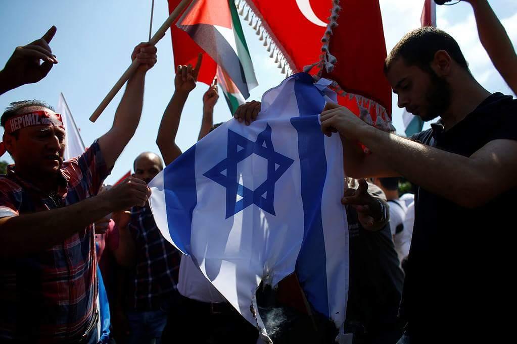 İstanbul'da Kudüs için yapılan gösteriler 6