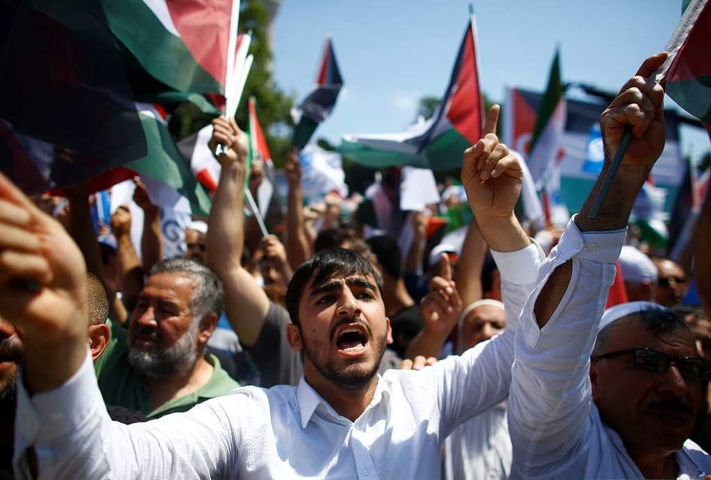 İstanbul'da Kudüs için yapılan gösteriler 7