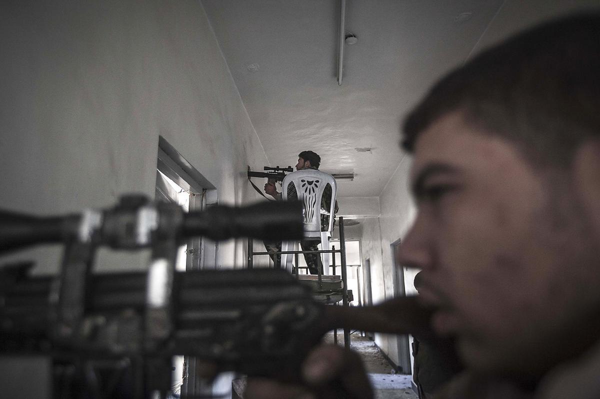 Suriye'de varlık-yokluk savaşı 1